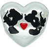 PANDORA Disney Mickey & Minnie's Kiss Charm