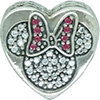 DANISH Disney Mickey and Minnie True Love Charm