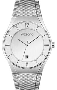 Mizzano Mens Watch St/Steel with Mesh Bracelet