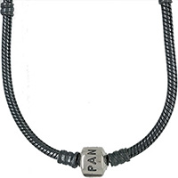 (RETIRED) Oxidised Silver Necklace with DANISH Clasp