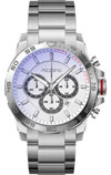 Mizzano Mens Heavy Chrono Watch with White Dial