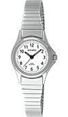 Olympic Ladies Stainless Steel Case & Expanding Bracelet