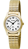 Olympic Ladies Gold Plated Watch and Expanding Bracelet
