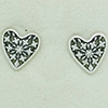 DANISH Hearts Of Winter Earring Studs
