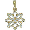 (RETIRED) DANISH 14ct Gold Lace Boutique Pendant