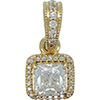 DANISH 14ct Gold Timeless Elegance Necklace Pendant