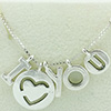 DANISH I Love You Necklace