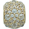 PANDORA 14ct Gold Shimmering Droplets Charm