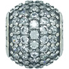 DANISH Pave Lights CZ Charm