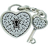 DANISH Lock of Love Charm