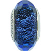 PANDORA Iridescent Blue Faceted Murano Glass Charm