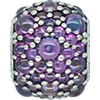 DANISH Purple Shimmering Droplets Charm