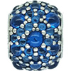 DANISH Vivid Blue Shimmering Droplets Charm