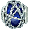 DANISH Royal Blue Galaxy Charm