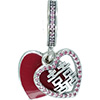 PANDORA Double Happiness Heart Hanging Charm
