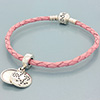 (LIMITED EDITION) DANISH Pink Single Leather Bracelet